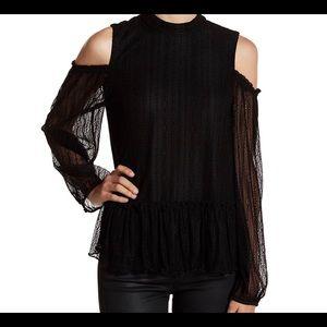 RO & DE black long sleeve dress shirt